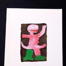 Varios objetos de Arte: JOSE DE GUIMARAES - RENE METRAS 1988. Lote 145807466