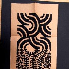 Art: CARLOS ROMEU Y DARIO GROSSI - CLUB TAITA 1969 - SERIGRÁFICO. Lote 145810818