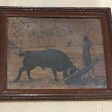 Varios objetos de Arte: CUADRO ANTIGUO DE TORERO AÑOS 60. Lote 145887086