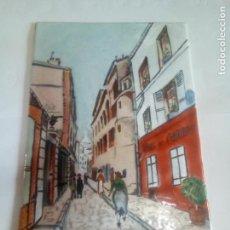 Varios objetos de Arte: CUADRO REALIZO EN CHAPA ESMALTADA AL FUEGO. Lote 145985134
