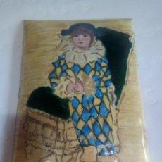 Varios objetos de Arte: CUADRO REALIZO EN CHAPA ESMALTADA AL FUEGO. Lote 145986746