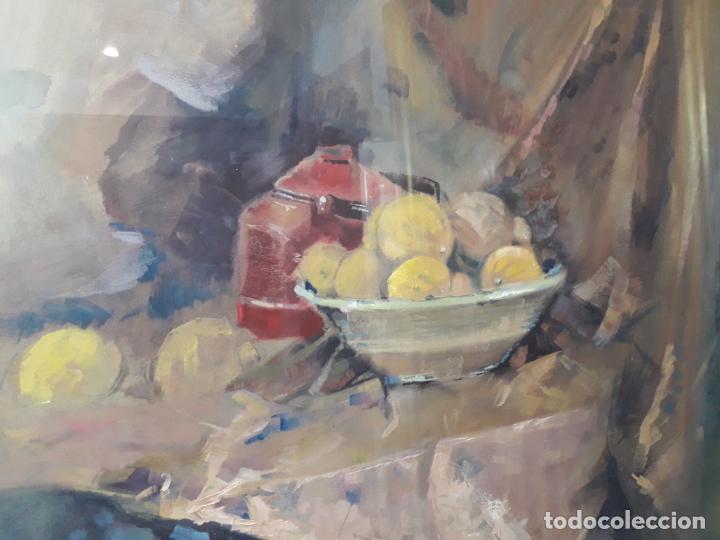 Varios objetos de Arte: Bodegón técnicas mixtas - Foto 3 - 146094838