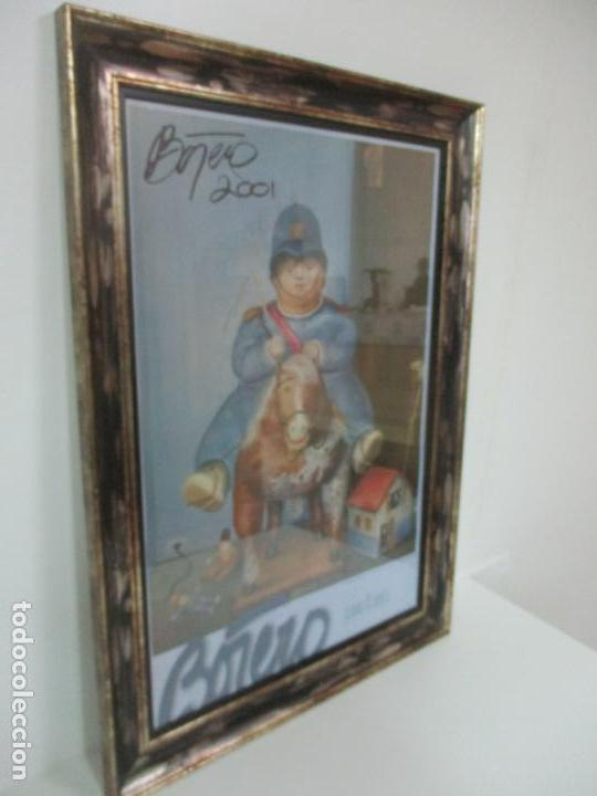 Varios objetos de Arte: Poster - Fernando Botero - Museo de Antioquia, Medellin, Colombia -Firma Original Botero 2001 - Foto 2 - 146252838