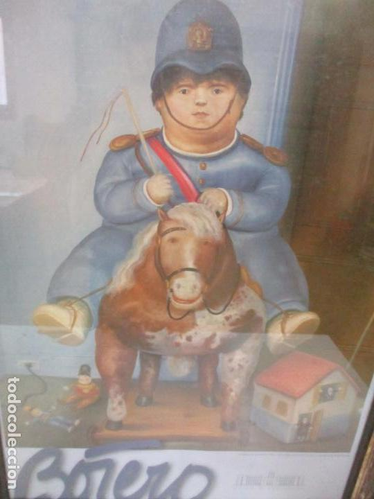 Varios objetos de Arte: Poster - Fernando Botero - Museo de Antioquia, Medellin, Colombia -Firma Original Botero 2001 - Foto 3 - 146252838
