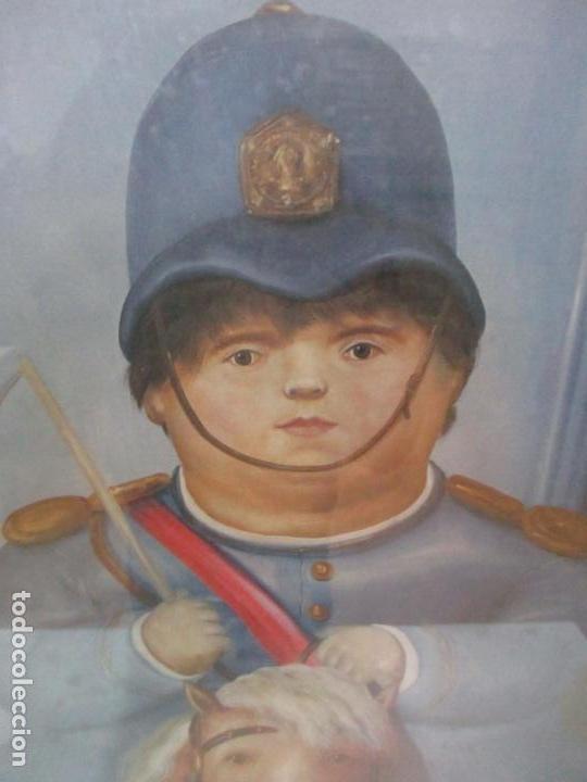 Varios objetos de Arte: Poster - Fernando Botero - Museo de Antioquia, Medellin, Colombia -Firma Original Botero 2001 - Foto 4 - 146252838