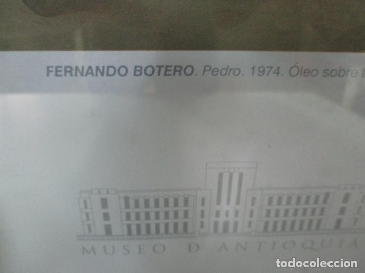 Varios objetos de Arte: Poster - Fernando Botero - Museo de Antioquia, Medellin, Colombia -Firma Original Botero 2001 - Foto 7 - 146252838