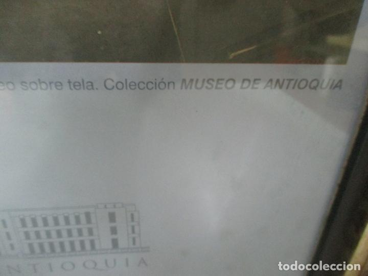 Varios objetos de Arte: Poster - Fernando Botero - Museo de Antioquia, Medellin, Colombia -Firma Original Botero 2001 - Foto 8 - 146252838