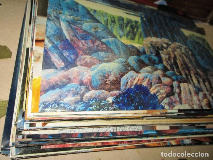 ANTONIO FERRIS PINTOR VALENCIA BOCAIRENT LOTE 158 FOTOS ORIGINALES ANTIGUAS DE SU PINTURA (Arte - Varios Objetos de Arte)