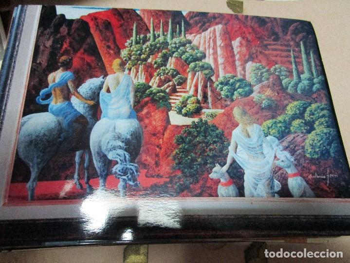 Varios objetos de Arte: ANTONIO FERRIS PINTOR VALENCIA BOCAIRENT LOTE 158 FOTOS ORIGINALES ANTIGUAS DE SU PINTURA - Foto 15 - 146322414
