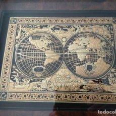 Varios objetos de Arte: ORO 24 KILATES. 50X43CM. CUADRO DAMASQUINADO, REALIZADO EN TOLEDO. CON CERTIFICADO DE GARANTIA.. Lote 146414786