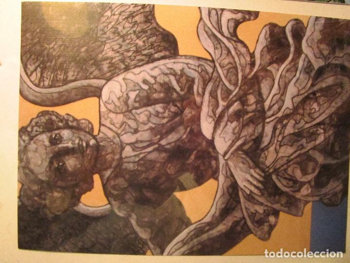 Varios objetos de Arte: ANTIGUAS 2 TARJETAS DEL PINTOR ANTONIO FERRI VALENCIA - Foto 3 - 146433482