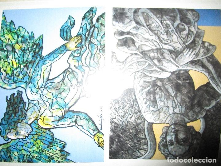 Varios objetos de Arte: ANTIGUAS 2 TARJETAS DEL PINTOR ANTONIO FERRI VALENCIA - Foto 4 - 146433482