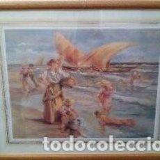 Varios objetos de Arte: LOTE DE CINCO CUADROS. Lote 146491998