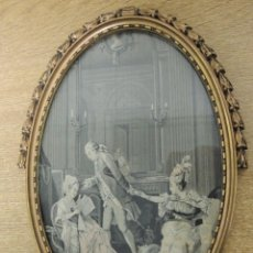 Varios objetos de Arte: SEDA ENMARCADA ESTEVA Y CIA. Lote 146765238