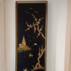 Varios objetos de Arte: CUADRO LACADO JAPONÉS. Lote 146913826
