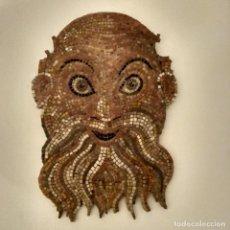 Varios objetos de Arte: MOSAICO CABEZA DE BACO. Lote 146871646