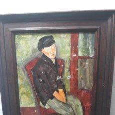 Varios objetos de Arte: ESMALTE SOBRE COBRE. Lote 147164766