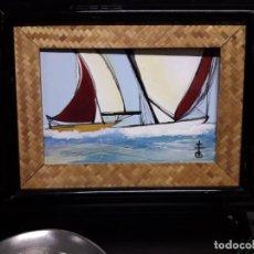 Varios objetos de Arte: CERÁMICA FIRMADA. Lote 147223246