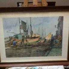 Varios objetos de Arte: CUADRO DE LAMINA ENMARCADO EN CRISTAL. Lote 147225958