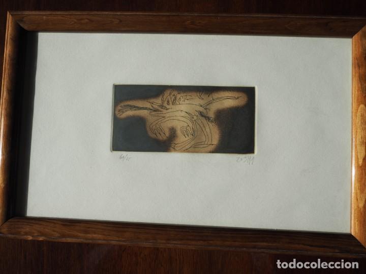 ZUSH. 1.UROXOS,LIBRO DE ARTISTA,COLECCIÓN LIMITADA,NUMERADA,FIRMADA Y ENRIQUECIDA A MANO. 2.GRABADO (Arte - Varios Objetos de Arte)