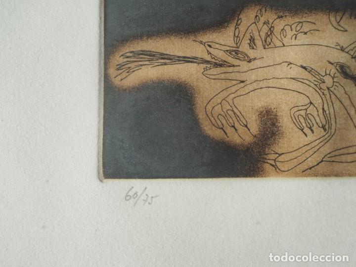 Varios objetos de Arte: Zush. 1.UROXOS,libro de artista,colección limitada,numerada,firmada y enriquecida a mano. 2.Grabado - Foto 3 - 147296838