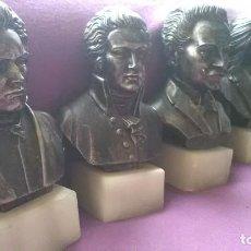 Varios objetos de Arte: BUSTOS MUSICOS. Lote 147696418