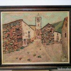 Varios objetos de Arte: SETCASAS PIRINEO CATALÁN. FIRMADO JM. ( COMPOSICIÓN MIXTA MARMOLINA Y ROCAS NATURALES). Lote 148013030