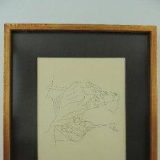 Varios objetos de Arte: PRECIOSA OBRA DE ARTE-MANOS DEL PINTOR-NICOLAS MARTINEZ ORTIZ-TINTA SOBRE PAPEL-FIRMADA AÑO1969. Lote 148197714