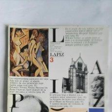 Varios objetos de Arte: REVISTA MENSUAL DE ARTE LÁPIZ FEBRERO 1983 N 3. Lote 148243474