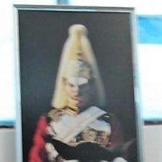 Varios objetos de Arte: FOTO BERKERKE DE GUARDIA A CABALLO. TAMAÑO 160X56 CM. Lote 131163324