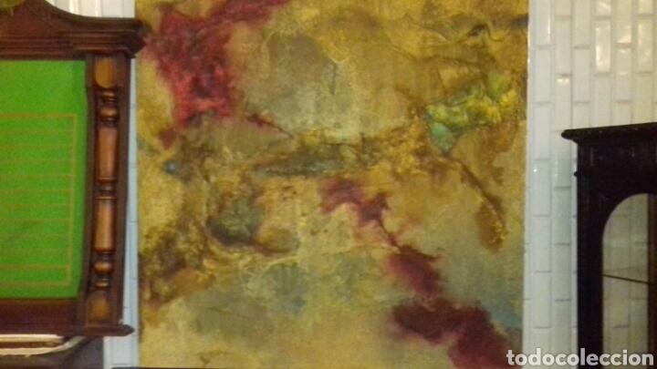 Varios objetos de Arte: CUADRO ABSTRACTO. TRANSHUMANCIA - Foto 3 - 53005326