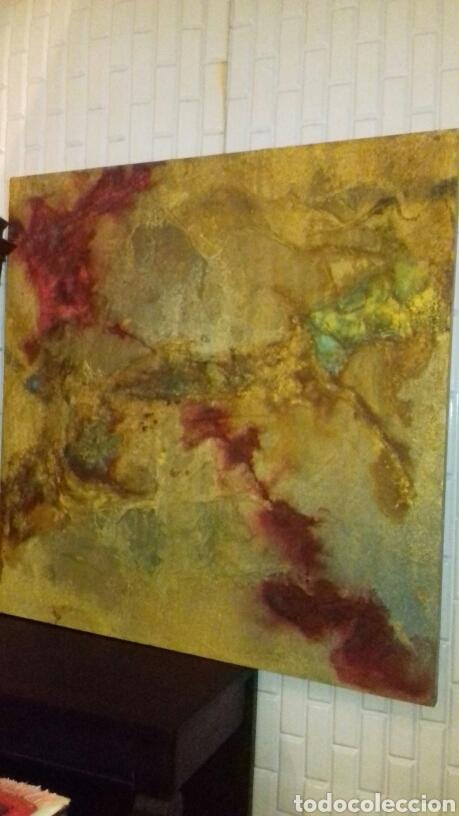Varios objetos de Arte: CUADRO ABSTRACTO. TRANSHUMANCIA - Foto 4 - 53005326