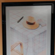 Varios objetos de Arte: CADOGAN GALLERY, RARO CARTEL ENMARCADO GRAN TAMAÑO. Lote 150625474