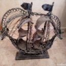 Varios objetos de Arte: BARCO DE ARTESANÍA ALAMBRE (METAL). Lote 151451380