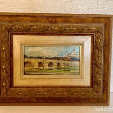 Varios objetos de Arte: OLEO SOBRE TABLA. Lote 152242918