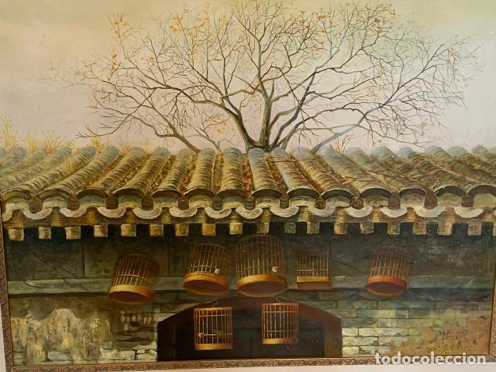 Varios objetos de Arte: OLEO SOBRE LIENZO FIRMADO - Foto 2 - 152250454