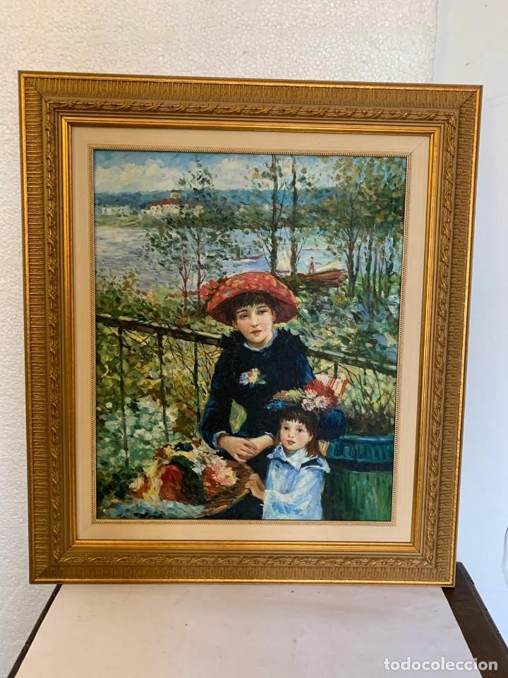 Varios objetos de Arte: OLEO SOBRE LIENZO - Foto 2 - 152254230
