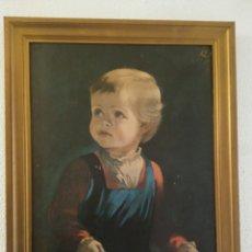 Varios objetos de Arte: CHILDHOOD BY ANNA ZINKEISEN (ENUMERADA)5358. Lote 152345877