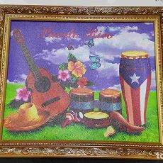 Varios objetos de Arte: CUADRO: DE INSTRUMENTOS MUSICALES. PUERTO RICO. Lote 140442341