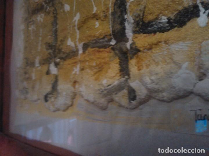 Varios objetos de Arte: PINTURA cuadro relieve TAPIA ARTEAGA, marco del propio artista. - Foto 6 - 152371462