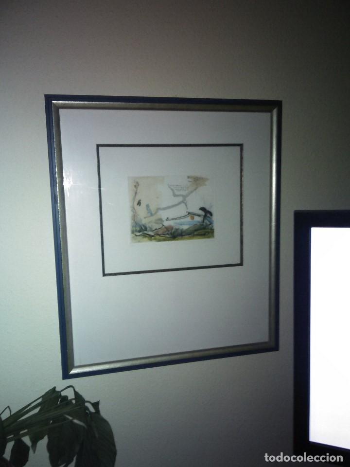 Varios objetos de Arte: Pintura cuadro lote de dos , firmados y enmarcados. - Foto 5 - 152374462