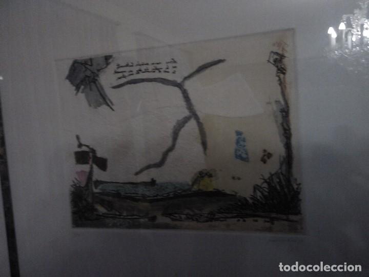 Varios objetos de Arte: Pintura cuadro lote de dos , firmados y enmarcados. - Foto 6 - 152374462