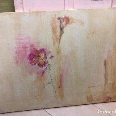 Varios objetos de Arte: PINTURA SOBRE TABLA CON MEDIDAS 122X81 CM - FIRMADO POR LA PINTORA GADITANA LOURDES CASTRO CERON. Lote 153704118