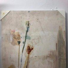 Varios objetos de Arte: PINTURA SOBRE TABLA CON MEDIDAS 65X54 CM - FIRMADO POR LA PINTORA GADITANA LOURDES CASTRO CERON. Lote 153708838