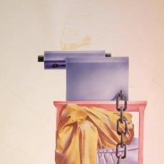 Varios objetos de Arte: CARBAJO * LÁMINA 29 X 41,3 CM * CON FIRMA. Lote 153837058