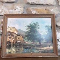 Varios objetos de Arte: LAMINA DE CUADOR ENMARCADA. Lote 153874862