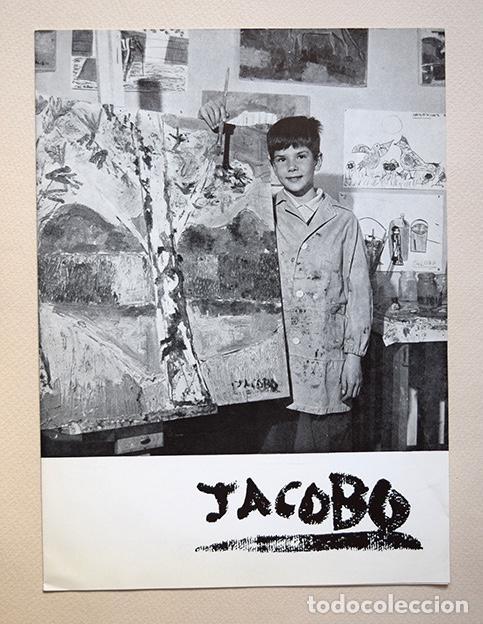 JACOBO MARTÍNEZ DE IRUJO · DÍPTICO GALERÍA BIOSCA, MADRID, 1964. SIRUELA (Arte - Varios Objetos de Arte)
