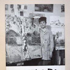 Varios objetos de Arte: JACOBO MARTÍNEZ DE IRUJO · DÍPTICO GALERÍA BIOSCA, MADRID, 1964. SIRUELA. Lote 154027386