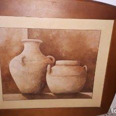 Varios objetos de Arte: CUADRO VASIJAS 1. Lote 154714722