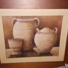 Varios objetos de Arte: CUADRO DE VASIJAS 2. Lote 154714842